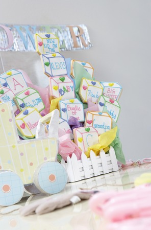 Toys at a Baby Shower Stock Photo - 5475210