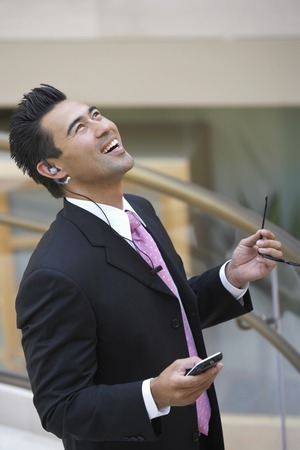 Businessman Using Cell Phone Stock Photo - 5475365