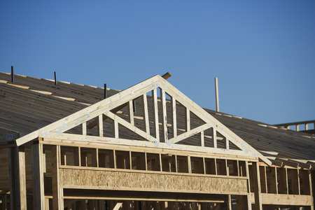 roof framework: Building construction, detail LANG_EVOIMAGES