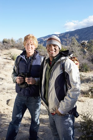 Two Young Men Hiking Stock Photo - 5412214