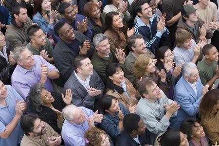 Crowd applauding Stock Photo - 5475647