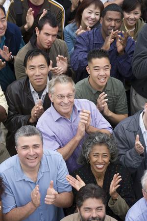 Crowd applauding Stock Photo - 5475648