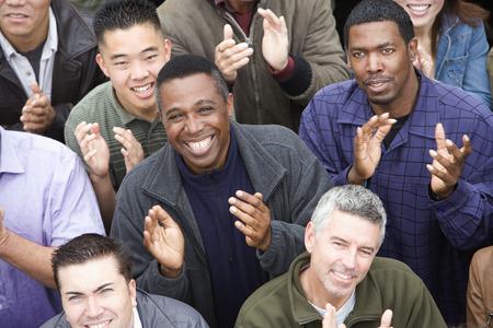 Crowd applauding Stock Photo - 5475686