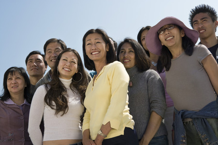 Crowd of Asian people Stock Photo - 5475713