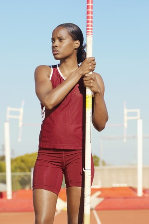 Pole Vault Competitor Stock Photo - 5475758