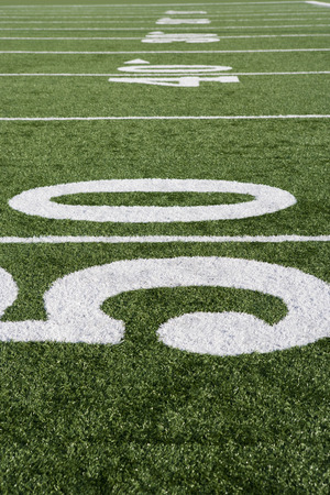 american football field: Detail of American Football Field LANG_EVOIMAGES