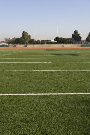 terrain foot: D�tail du terrain de football am�ricain  LANG_EVOIMAGES