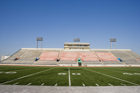 football field: American Football ground