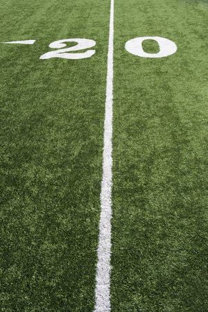 Detail of American Football Ground Stock Photo - 5475923