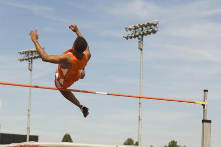 High-jumper Stock Photo - 5476083