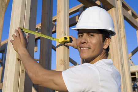 Worker in construction site Stock Photo - 5476218