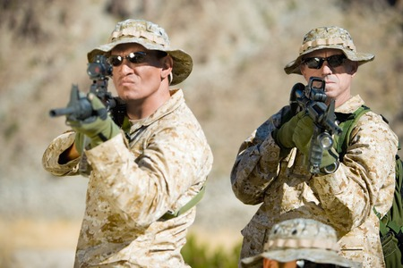 Armed Soldiers Stock Photo - 5476406