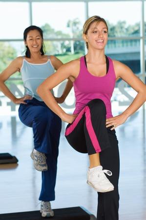 well beings: Step Aerobics Class