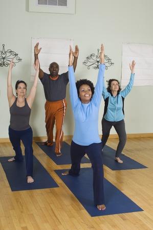arching: Estirar en Clase de Yoga