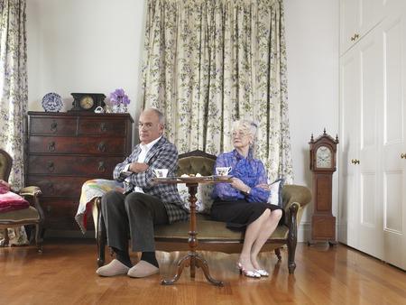 spat: Senior Couple Having a Spat LANG_EVOIMAGES