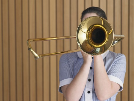 Trombone Player Stock Photo - 5487606