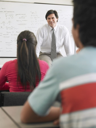 Teenagers in the Classroom Stock Photo - 5487612