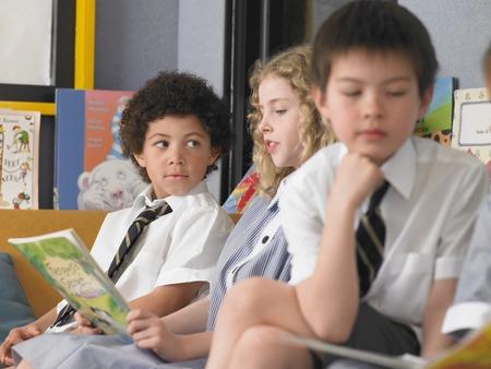 Schoolkids in Classroom