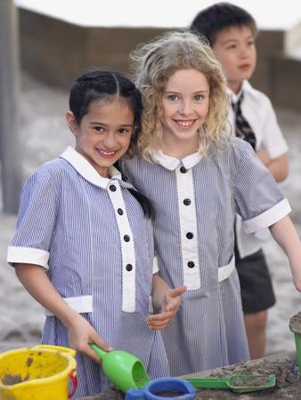 no kw 1: Schoolkids on a Playground