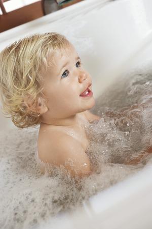 Boy in a Bathtub Stock Photo - 5487654