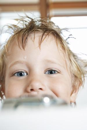Boy in a Bathtub Stock Photo - 5487655