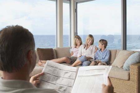Family on Vacation Stock Photo - 5487663
