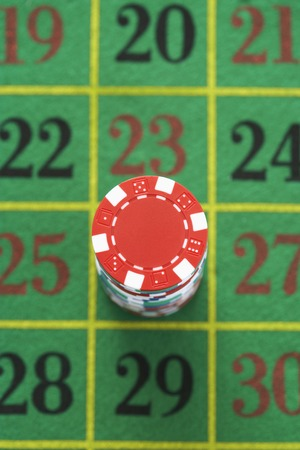 Betting on Roulette Stock Photo - 5487760