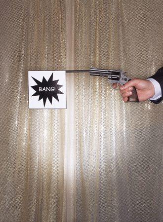 Bang Gunshot Stock Photo - 5487773