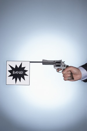 Bang Gunshot Stock Photo - 5487774