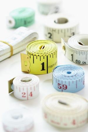 Rolls of Measuring Tape Stock Photo - 5487796