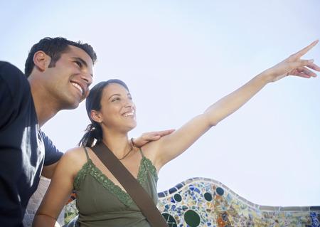 early twenties: Sightseeing Couple