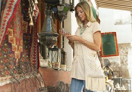 fortysomething: Tourist Shopping on Souvenir Stall
