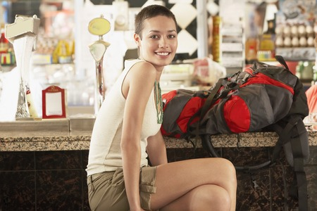 holiday maker: Hiker in Bar