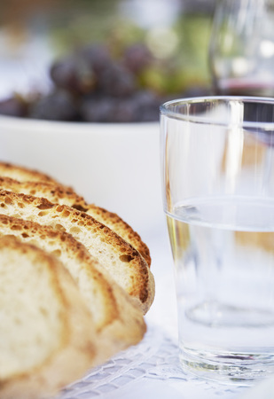 Loaf of Bread and Glass of Water LANG_EVOIMAGES
