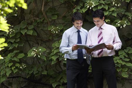 no kw 1: Businessmen Making Plans