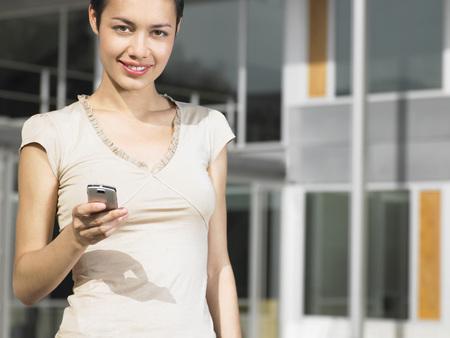 Businesswoman Telephoning