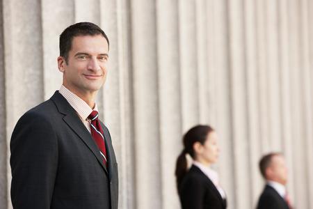 Confident Attorney by Column