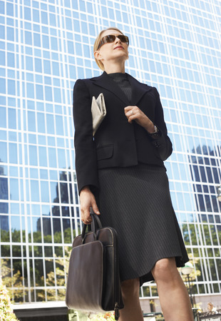 no kw 1: Businesswoman Going to Work