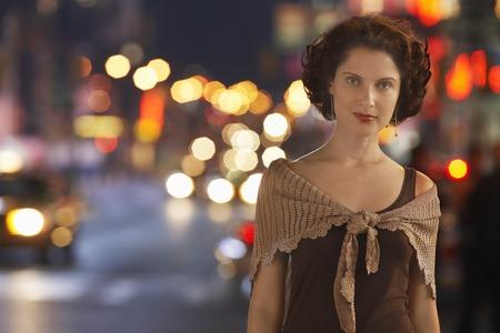 folder7: Stylish Woman on Street in City