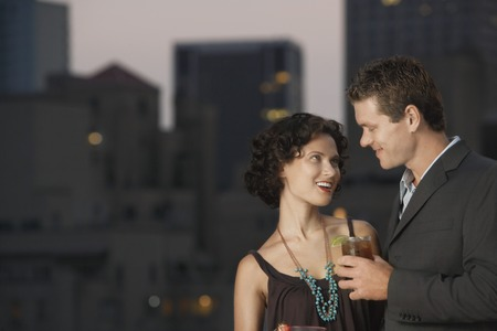 Couple on a Date Stock Photo - 5494560
