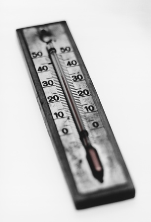 Thermometer (b&w) Stock Photo - 8822431