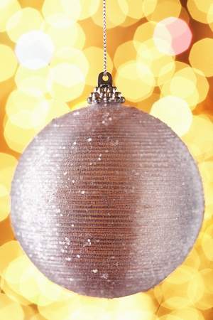 Christmas bauble close-up Stock Photo - 8844625