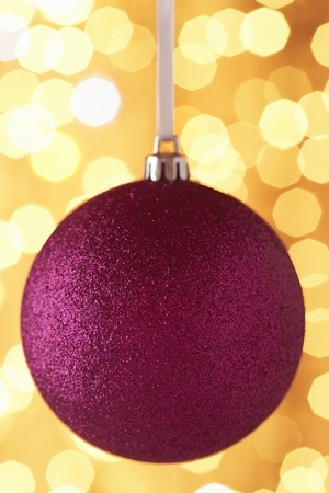 Christmas bauble close-up Stock Photo - 8844627