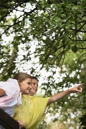 Children in Forest Stock Photo - 8844875