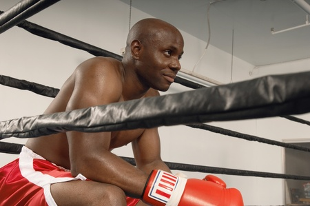 willpower: Boxer in Ring