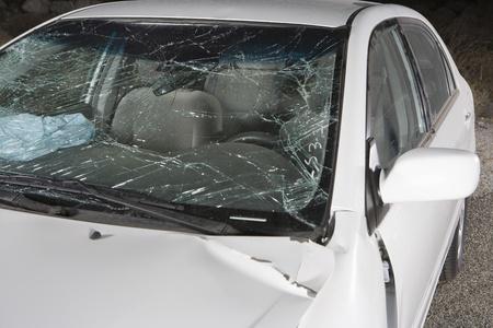 Damaged car Stock Photo - 12513668