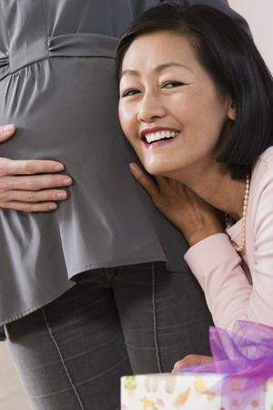 Mature asian women shower