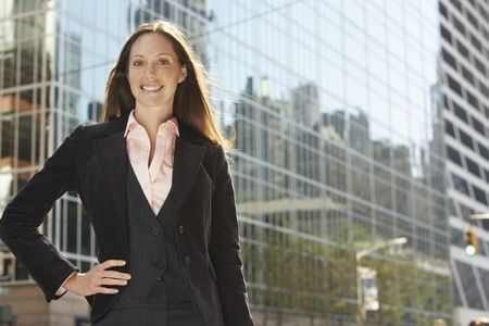 Young Businesswoman Stock Photo - 12513973