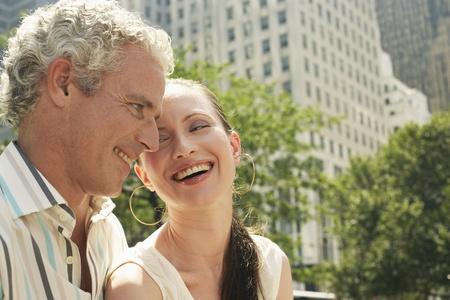 late thirties: Happy Couple