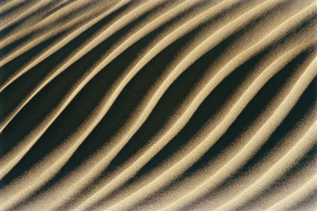 Grooves in sand Stock Photo - 12514007